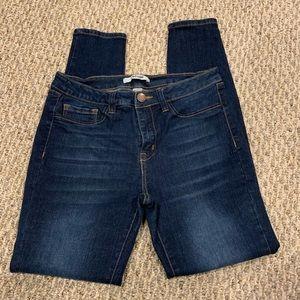 Mid rise Refuge skinny ankle jeans